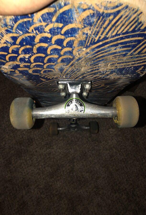 Trucks and wheels /skateboard