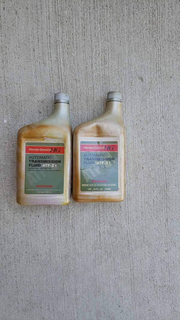 Honda Atf Z1 2 5 Qts New Fluid In Stained Bottles