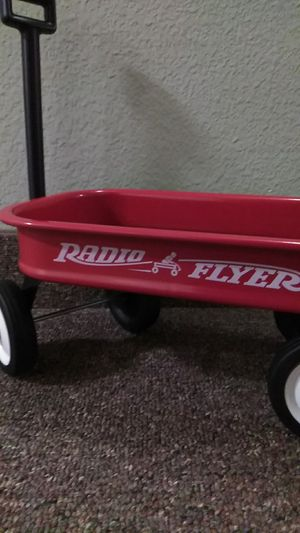 Photo Authentic Radio Flyer Kids Toy Wagon