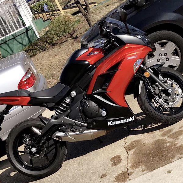 2014 Burnt Orange Kawasaki Ninja 650r W Yoshi Exhaust For Sale In