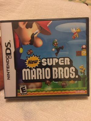 Nintendo ds new super mario bros game sealed for Sale in Arlington, VA