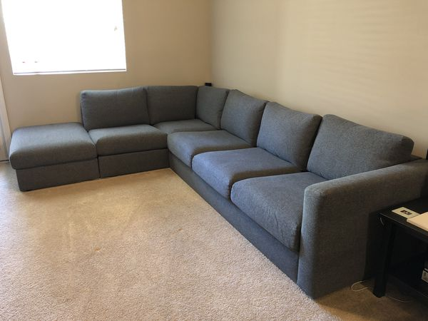 IKEA VIMLE 4-PIECE SECTIONAL SOFA for Sale in La Habra, CA ...