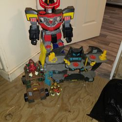 Robot And Batcave 2 Ninjas Y Truck $15 All Of Them Thumbnail