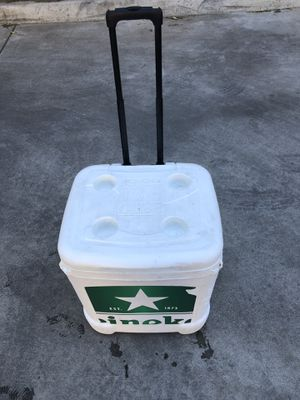 Heineken Igloo Rolling Cooler -$50 for Sale in Long Beach, CA