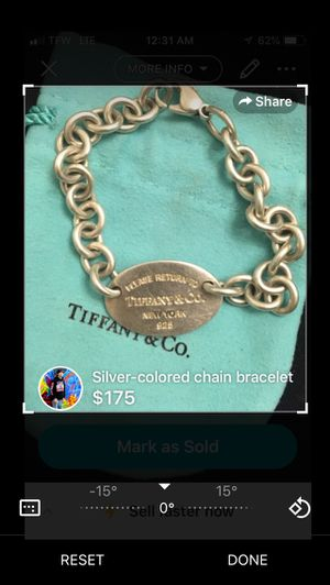 Tiffany & C.O. Bracelet for Sale in Germantown, MD