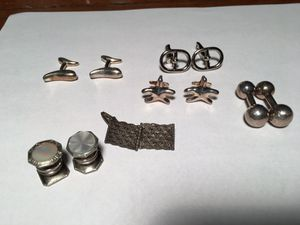Hérmes & Tiffany Cuf Links sterling silver for Sale in Chicago, IL