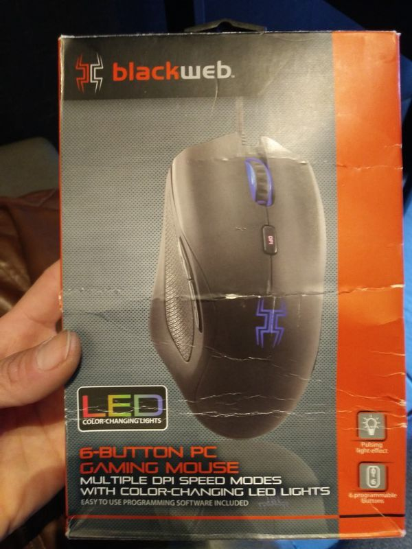 Blackweb 6 Button Gaming Mouse