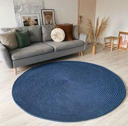 100% cotton rugs, handmade, washable Thumbnail