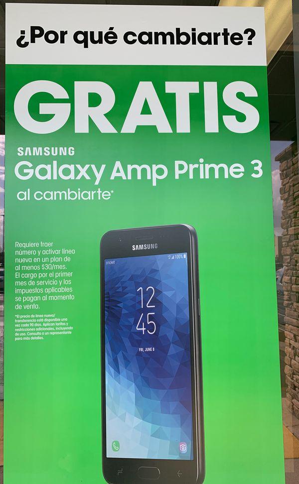 Free Samsung Amp Prime 3 for Sale in Sanford, FL - OfferUp