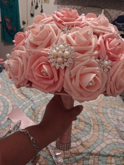 Bridal/quinceanera bouquets Thumbnail