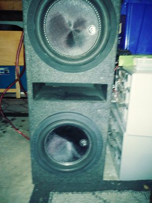 "10"" massive audio speakers kilos 104 for Sale in Orlando, FL"