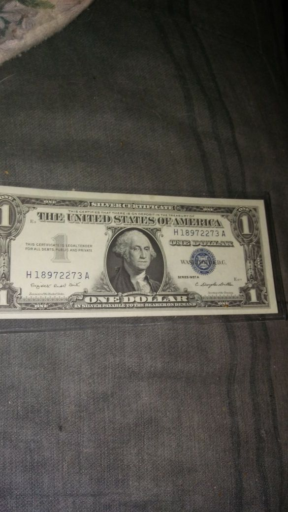 1957 Silver Certificate Bu For Sale In Dunn Nc Offerup