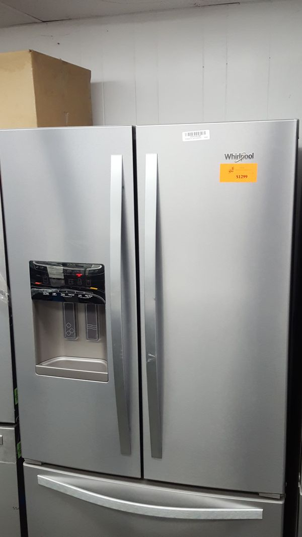 Whirlpool Stainless Steel French Door Refrigerator For