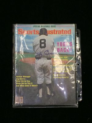 Yogi Berra Autograph SportsIllustrated with CoA for Sale in Westminster, MD