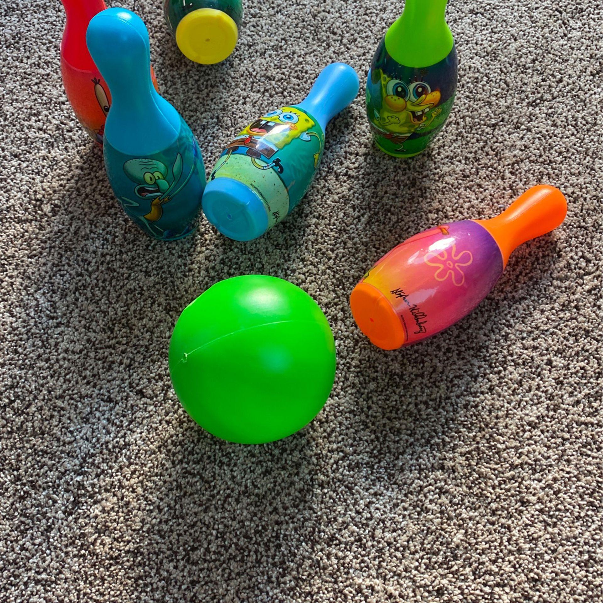 Spongebob Little Bowling
