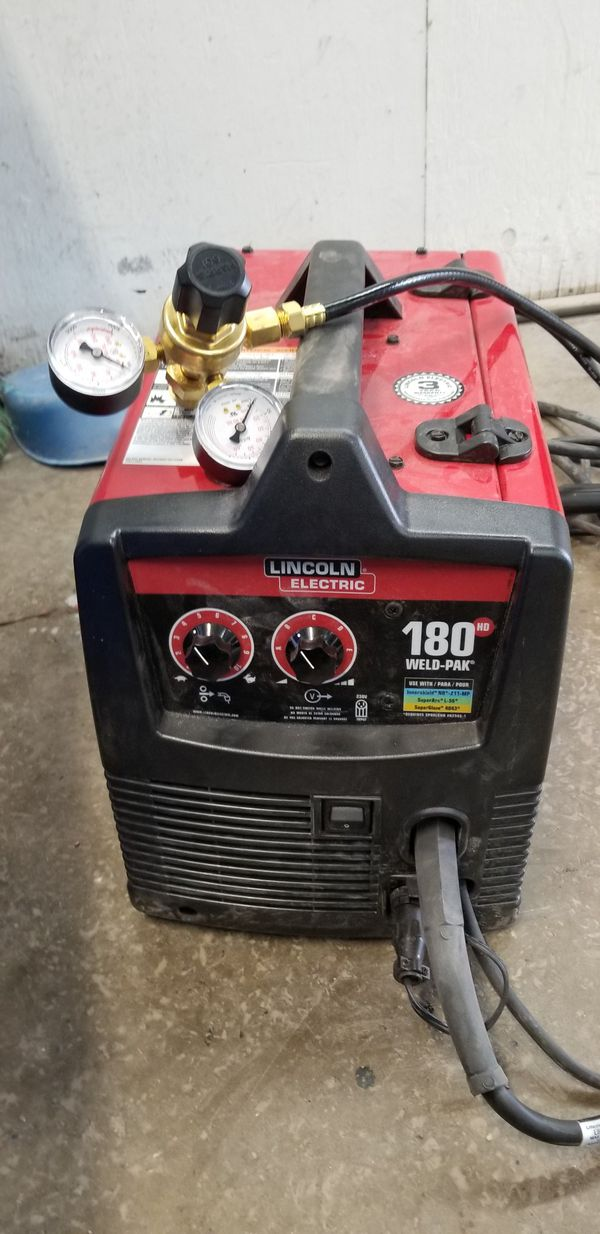 Lincoln 180 mig welder new for Sale in Amherst, OH - OfferUp