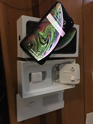 IPHONE XS MAX 64GB BRAND NEW FACTORY UNLOCKED for Sale in Annandale, VA