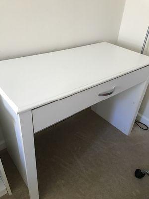 White desk for Sale in Arlington, VA