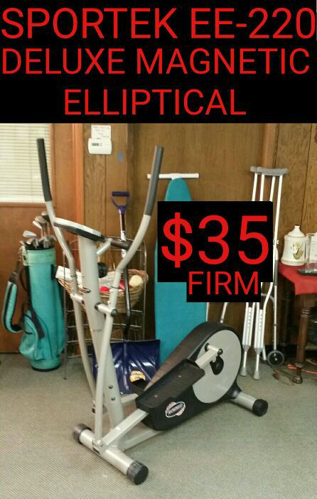 Sportek Ee 220 Deluxe Magnetic Elliptical 35 Works Great For Sale In Dayton Oh Offerup Sportek ee220 elliptical stair climber (granby, ct). sportek ee 220 deluxe magnetic
