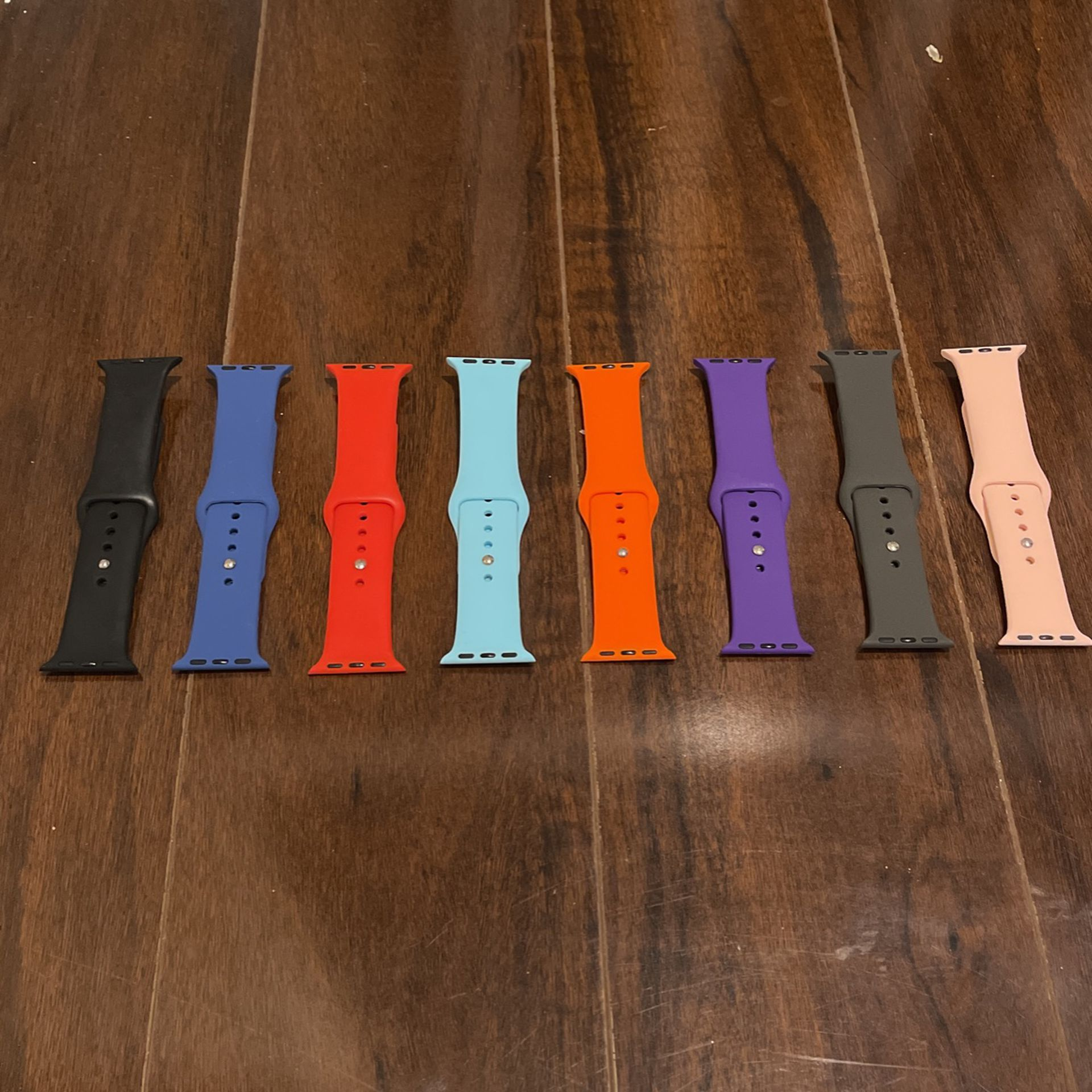 Apple Watch Bands • Fits any series • 8 pc. set