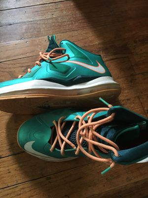 Nike Lebron James Miami dolphin color. Size 7 for Sale in Dundalk, MD
