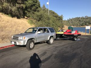 2001 4runner and sea doo with trailer all work for Sale in San Francisco, CA