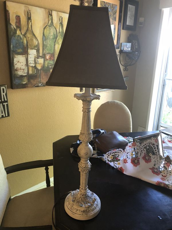 Repainted Lamp With New Shade Farm Look Home Garden In Las Vegas Nv Offerup
