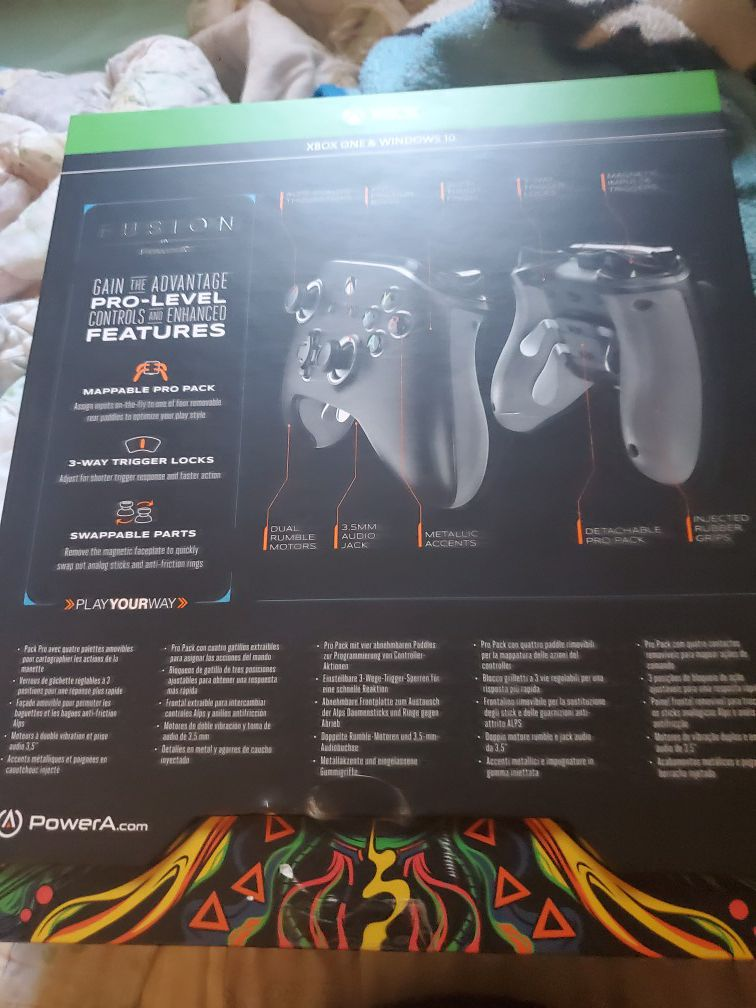 Power A Xbox One pro controller WIRED