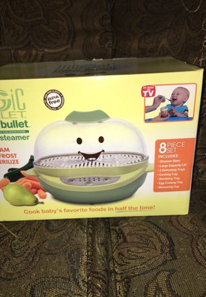 Baby Magic Bullet turbo steamer for Sale in Silver Spring, MD