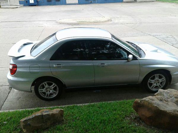 2004 Subaru Impreza Wrx For Sale In Carrollton Tx Offerup