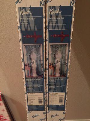 Kirsch wood pole set for Sale in Winter Park, FL