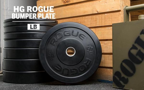 Rogue fitness bumper plates lbs hg for sale in