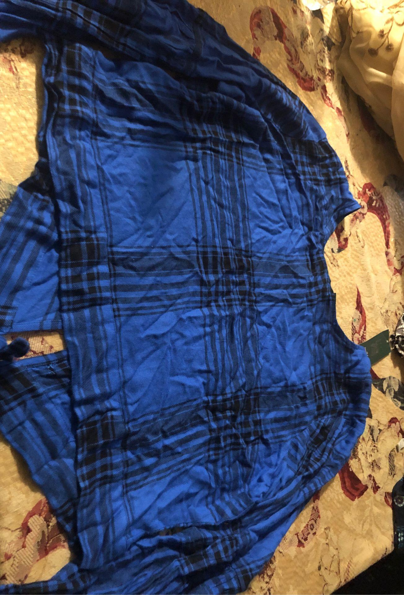 Xxl blue blouse