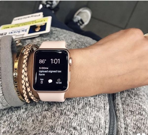 outlet store 119a4 568ad Apple Watch Series 1, 38mm Rose Gold Aluminum Case with Pink Sand Sport  Band for Sale in Cypress, CA - OfferUp