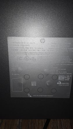 """HP 24"""" all in one touch screen computer Thumbnail"""