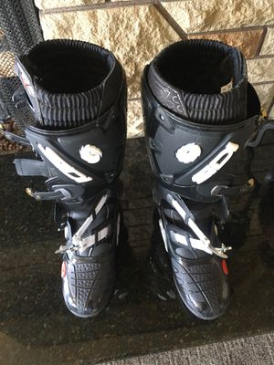 Sidi crossfire dirtbike boots for Sale in Tacoma, WA