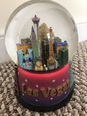 Las Vegas snow globe for Sale in Washington, DC