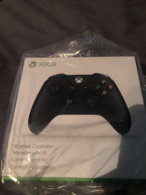 Black Xbox one controller for Sale in Fredericksburg, VA