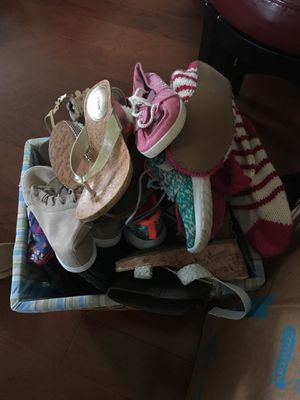 JUNIOR/ADULT GIRLS SHOES, VARIOUS SIZES for Sale in Ashburn, VA