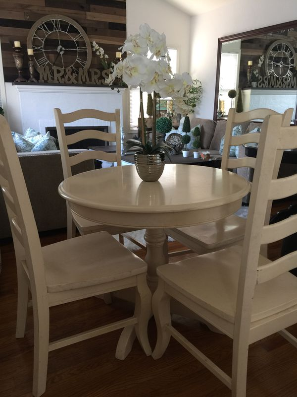 Farmhouse Heavy Dining Room Table And Chairs For In Lodi Ca Offerup