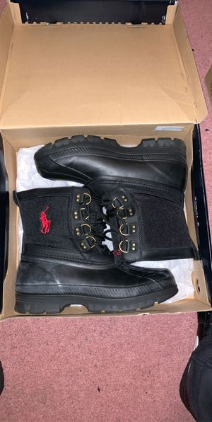 Photo Polo boots size 9