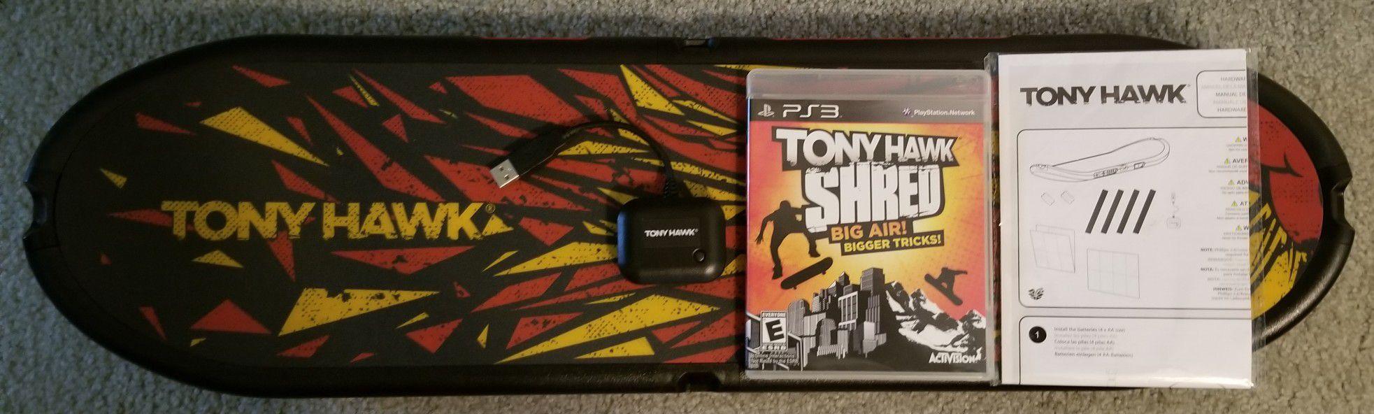 PS3 game Tony Hawk Shred