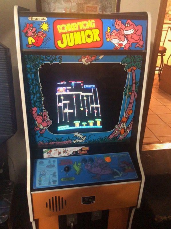 Restored Donkey Kong Jr Arcade Machine For Sale In Bartlett Tn