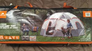 Family Size Camping Tent w/LEDs for Sale in Oklahoma City, OK