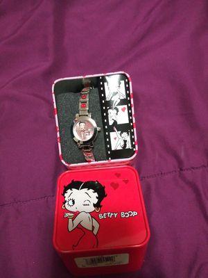 Betty boop sterling silver watch for Sale in Norfolk, VA