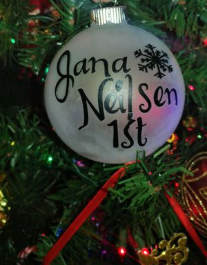 Customized Christmas ornaments made to order for Sale in Denver, CO