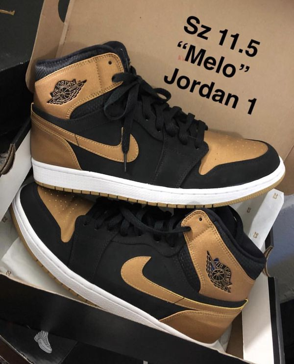 "official photos 11206 0632d Air Jordan 1 ""Melo"" pre-owned for Sale in Bronx, NY - OfferUp"