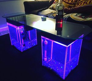 AquaTables - Aquarium Fish Tank Coffee/End Tables/TV Stand-4 living room,sofa,sectional,bed,chair,rug,carpet,desk,recliner for Sale in Chevy Chase, MD