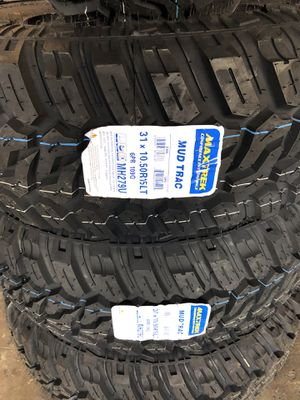 31105015 mud tires set for Sale in Longwood, FL