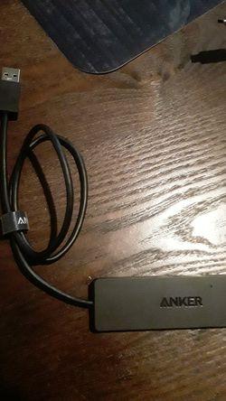 Anker 4 multi purpose USB port system Thumbnail